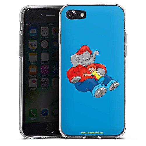 Apple iPhone X Silikon Hülle Case Schutzhülle Benjamin Blümchen Fanartikel Merchandise Beste Freunde Silikon Case transparent