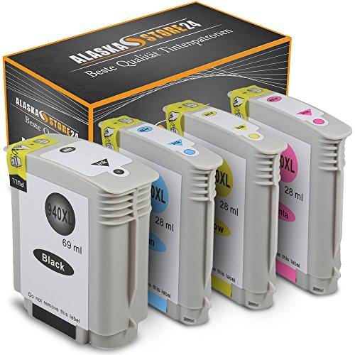 4er Set Druckerpatronen Kompatible für HP 940 XL 940XL (Schwarz , Cyan , Magenta , Gelb) für HP Officejet Pro 8000 8500 A909A 8500A A910A druck er patronen - Wireless Officejet 8500 Hp Pro