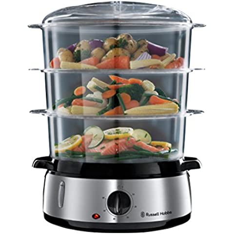 Russell Hobbs 19270-56 Vaporiera Cook at Home, Capacità 9 Litri,