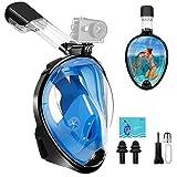 Masque de Plongée - Masque de Snorkeling Intégral pour Vision...