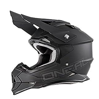 O'Neal 2Series RL MX Helm Flat Schwarz Matt, M (57/58 cm), 0200-11