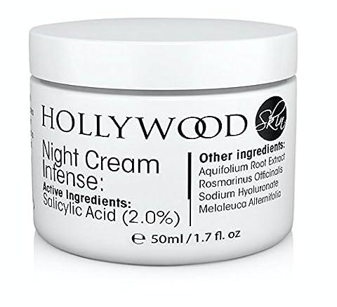 INTENSE Acne Cream - 2% Salicylic Acid!! Night Cream Intense - Over night acne treatment. 400% STRONGER than regular acne creams. 60ml Bottle