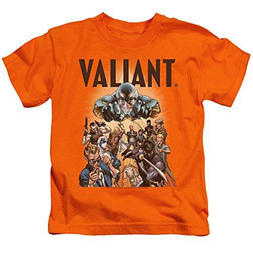 Valiant - Jugend-Pyramide-Gruppen-T-Shirt, Large (7), Orange