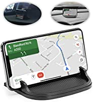 lebogner Car Phone Holder, Anti Slip Silicone Cell Phone Mount For Your Dashboard, Center Console Or Desk, Pho