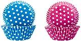 IBILI 735904 - Capsulas Reposteria Lunares (Rosa+Azul)