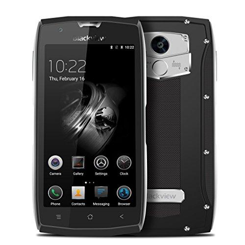 Blackview - BV7000Pro IP68Smartphone–Waterproof, Anti-Dust, Shockproof, Dual SIM, Android 6.0,SIM Free, 3500mAh Battery, 4GB RAM, 64GB ROM, 4G, 8MP/5MP Camera, 45.0inchHD, Octa Core Rugged Smartphone