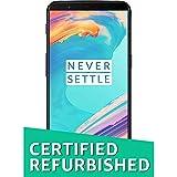 (Certified REFURBISHED) OnePlus 5T (Midnight Black, 128GB)