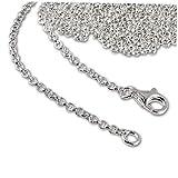SilberDream - Collana per ciondoli charm, in argento Sterling 925, lunghezza: 90 cm, FC00299-1