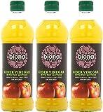 (3 PACK) - Biona - Organic Cider Vinegar   500ml   3 PACK BUNDLE