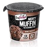 Mighty Muffin mit Probiotika, Double Chocolate, 1,94 Unzen (55 g) - FlapJacked