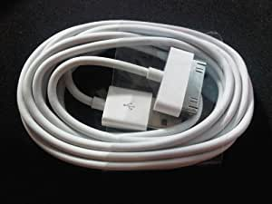 2 METERS EXTRA LONG USB DATA SYNC CHARGER CABLE LEAD FOR iPhone 4S iPod iPad 2