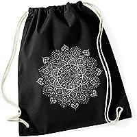 Turnbeutel Buddha Buddha-Kopf Mandala Gymsac Drawstring Gymbag Autiga®