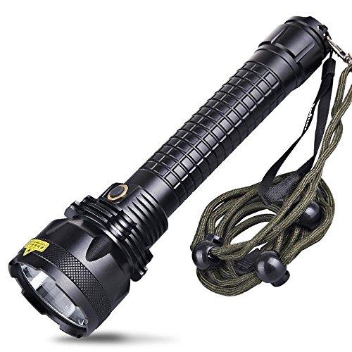 Jia&he 26650 starke Licht/Xenon Taschenlampe LED wiederaufladbare totale Super wasserdicht gelb Haushalt Suchscheinwerfer , A