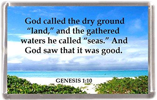 (Land und Meer Genesis 1: 10Großhandel von 12Stück Kühlschrank Magnete 12Geschenk Souvenir Kühlschrank Magnete)
