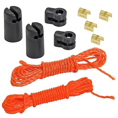 kit de réparation pour filets de clôture électrique, orange
