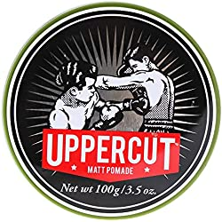 Uppercut Deluxe Matt Pomade, retención media, 100 g