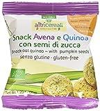 Probios Snack Avena e Quinoa, con Semi di Zucca - 35 gr, Biologico, Senza glutine