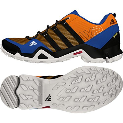 Adidas S75748 Ax2 Gtx Athletic Nautica Scarpe, Nero / semi solare Slime / Onix - 6 EQT Blue/Black/Orange