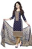 Sukh Creations punjabi patiyala salwar suits material for women -Blue