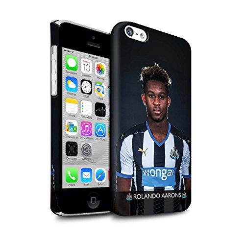 Offiziell Newcastle United FC Hülle / Matte Snap-On Case für Apple iPhone 5C / Pack 25pcs Muster / NUFC Fussballspieler 15/16 Kollektion Aarons