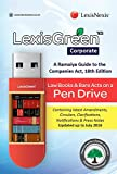 Lexis Green Corporate Pack - A Ramaiya Guide to the Companies Act on a Pen Drive with Amendments Updated up to July 2016