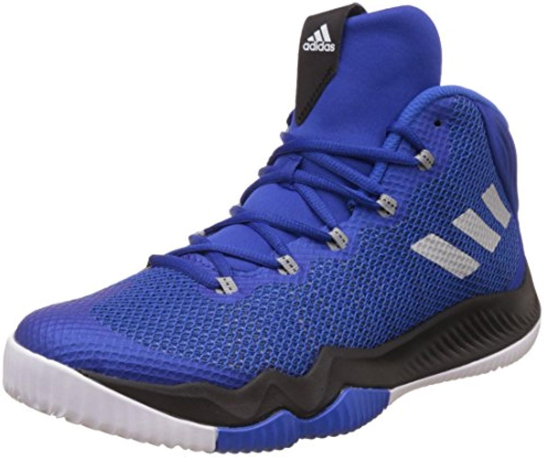 Adidas Crazy Hustle, Zapatillas de Baloncesto para Hombre, Azul (Reauni/Plamet/Azul 000), 47 1/3 EU  -