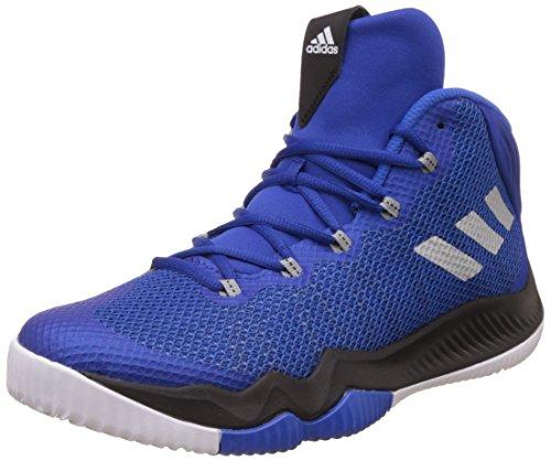 adidas Herren Crazy Hustle Basketballschuhe, Blau (Reauni/Plamet/Azul) 000, 46 EU