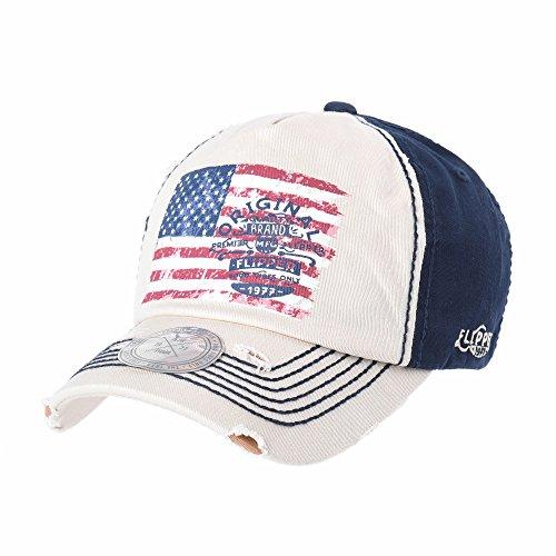 Imagen de withmoons de béisbol de trucker sombrero de baseball cap star and  stripes american flag ... 2604358bc98