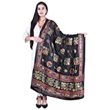 #2: Banjara Women's Kutch Work Cotton Dupatta Chakachak