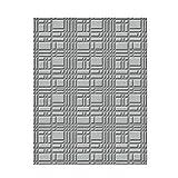 Spellbinders Relieve Carpeta Small-Gridiron,