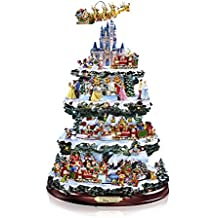 The Bradford Exchange 'The Wonderful World Of Disney' - Christmas Tree - 10 Scenes, 20 LED Lights, Movement