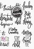Carnet de Notes Isométrique: VRAI A4 - 150+ pages avec Lignes Isométriques - Calligraphie - Agenda - Journal - Voyage, Voyage ! Et Paris ! (Aquarelles, Watercolor) - J090