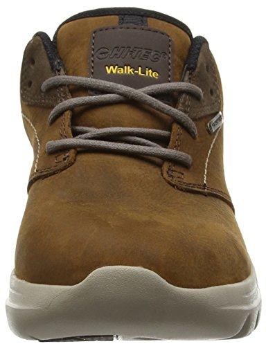 Hi-Tec - V-lite Walk Lite Witton Waterproof, Scarpe da arrampicata Donna Marrone (Chocolate 042)