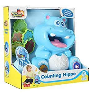 Happy Kid - Hippopotame qui compte bilingue