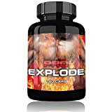 PRO EXPLODE | Pre Workout Booster | 120 Kapseln | Original Produkt | Neuer Trainings Booster | Beliebt bei Leistungssportlern | Auf Pharma Niveau hergestellt | Dopingfrei