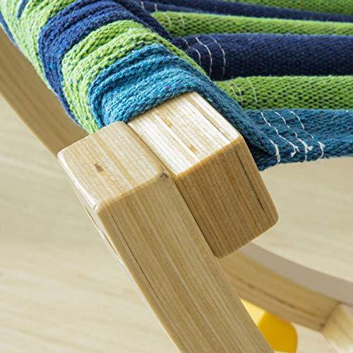 SoBuy® Kinder Hängematte – Kinderhängematte – Schaukelliege - 9