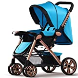 ZCJB Kinderwagen Baby Trolley Ultra-Licht Kann Sitzen Liegen Fold Zwei-Wege-Sommer Und Winter Dual-Use-Baby-Kind Einfache Portable Kinder-Auto Baby Trolley Kind (Farbe : C)