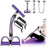 Wangmao Pedale Elastico Corda Elastica Resistenza del Pedale Fascia Addome Esercitatore per Le Gambe Tummy Trimmer Attrezzature Braccio Multifunzione Allenatore per Gambe per la Palestra di casa Yoga
