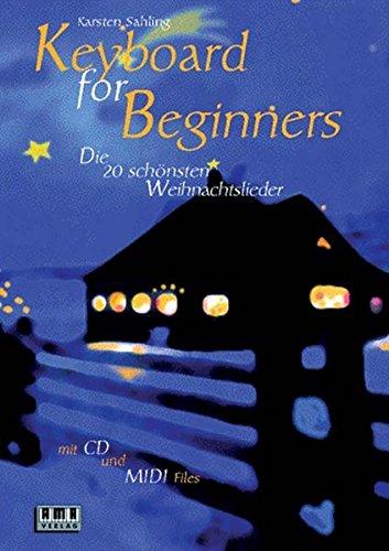 Keyboard for Beginners, m. je 1 CD-Audio, Die zwanzig schönsten Weihnachtslieder, m. CD-Audio u. Diskette (3 1/2 Zoll)