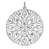 THOMAS SABO Damen-Anhänger Glam & Soul 925 Silber Diamant (0.5 ct) weiß - D_PE0003-725-21