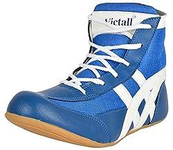 Victall Mens Blue Wrestling Shoes - 8 UK