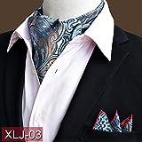 YIXINYI Fliege Mann Seide Smokings Anzüge Zubehör Krawatte 16 * 118cm 4 Optional ( Farbe : XLJ-03 )