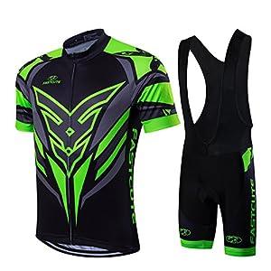 51Vri6v2dXL. SS300 RUIKODOM per Uomo Abbigliamento Ciclismo Set Nuova Collezione Estivo Abbigliamento Sportivo per Bicicletta Maglia Manica…