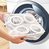 Mesh-Sneaker Waschen und Trocknen Beutel-Schuh-Wäscherei-Beutel-Speicher-Organisator