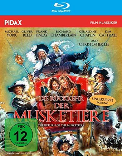 Die Rückkehr der Musketiere (The Return Of The Musketeers) - Die ungekürzte Fassung des Abenteuerfilms mit Starbesetzung nach dem Roman von Alexandre Dumas (Pidax Film-Klassiker) [Blu-ray]