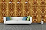 #4: BDPP Washable Vinyl Coated Imported Mettalic Wallpaper-W416(Covers approximately 50 square. Feet.)