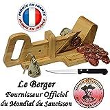 Le Berger, Guillotine, Trancheuse à Saucisson La montagnarde, Couteau de Découpe Offert