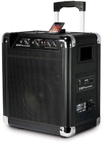 Ion Audio iPA06b  Blockrocker Personal Audio System schwarz