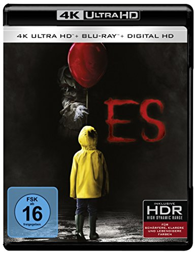 Stephen Kings Es (2017 - Teil 1) - Ultra HD Blu-ray [4k + Blu-ray Disc]