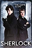 GB eye Sherlock Door Maxi Poster, Multi-Colour